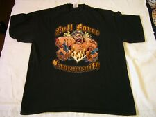 WITH FULL FORCE Metal Open Air 2008 T-Shirt!! thrash,punk,hardcore,death,gothic,