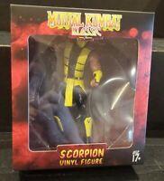 Culturefly Exclusive MK1 Mortal Kombat Klassic Scorpion Vinyl Figure Collectible