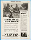 1920 Frost is on the Pumpkin Monitor Stove Co Cincinnati OH Caloric Furnace Ad photo