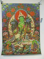 Bilder & Drucke Asiatika: Indien & Himalaya Billiger Preis Kalachakra Thangka Aus Mongolei Handbemalter Wandbehang Mongolisches Wandbil