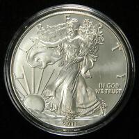 2011 Silver Dollar American Eagle BU , 1 OZ 999 , Deluxe Air-Tite