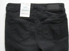 New Ladies Marks & Spencer Black Jeggings Size 16 Long DEFECTS