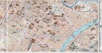 Torino Centro 1916 picc. cartina città orig. Vanchiglia Crocetta Cenisia Stadium