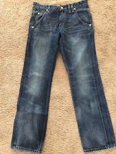 Men's Levi's 514 Blue Jeans Slim Straight Leg Flat Front Medium Wash Size: 31/32