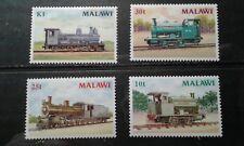 Malawi #498-501 MNH trains e1912.5640