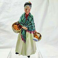 Royal Doulton Figurine The Orange Lady HN 1953 - Green Dress- # 1