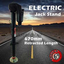 ELECTRIC TRAILER JACK STAND CARAVAN JOCKEY PARK LEG 12V PREMIUM QUALITY