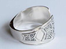Designer Silpada Carved Willow Hinged Cuff Bangle Bracelet B3322
