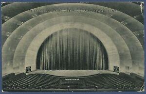 Radio City Music Hall New York, gelaufen 1936 (AK3839)