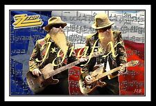 Zz Top - Billy Gibbons & Dusty Hill - Portrait Poster - Really Cool Artwork!