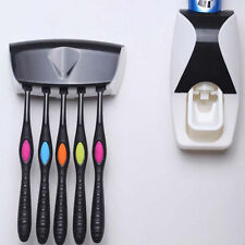 best Automatic Toothpaste Dispenser with 5 Toothbrush Holder