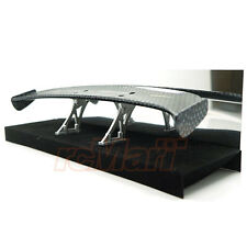 Slidelogy Shiny Carbon Pattern Spoiler Black Stands Type C 1:10 RC Car #SDY-0051