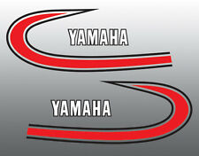 YAMAHA 1974 YZ250 TANK ONLY DECALS GRAPHICS