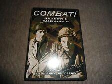 Combat - Season 1, Campaign 2 (1962) Like New 4 Discs (DVD)