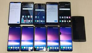 AS IS LOT OF 11 - VARIOUS LG MODELS & VARIOUS ISSUES Verizon T-Mobile - 102