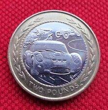 Rare Coin Hunt    ISLE OF MAN - VINTAGE RALLY  £2  two pound Coin  1998