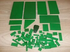 LEGO.GENUINE BASES BRICKS PARTS AND PIECES. ALL GREEN.  ALL IN PHOTO`S.GREAT LOT