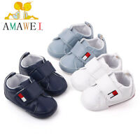 Newborn Baby Cute Boys Girls First Walkers Soft Sole Baby Toddler Infant Shoes