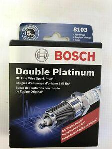 Spark Plug-OE Fine Wire Double Platinum Bosch 8103 set of 4