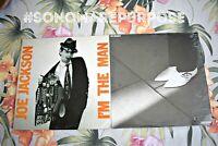 2 JOE JACKSON 'I'm The Man' & 'Look Sharp' Near Mint 1979 1st press Vinyl Record