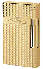 S.T. Dupont Ligne 2 Lighter Gold Plated Diamond Head (16284)