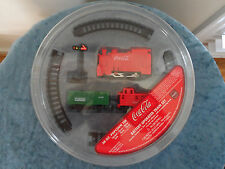 Coca Cola Battery Operated Train Set NIP