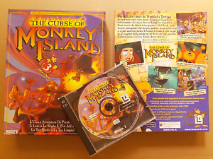THE CURSE OF MONKEY ISLAND 3 PC BIG BOX - Excellent Condition
