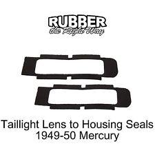 1949 1950 Mercury Taillight Lens to Housing Seals - pair