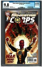 GREEN LANTERN SINESTRO CORPS SPECIAL #1 CGC 9.8 (8/07) DC ow-white pages