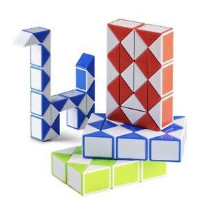 Mini Puzzle Snake Magic 3D Cube Stocking Filler Girls Boys Fidget Toy