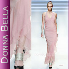 superbe robe soiree gala cocktail rose pailleté donna bella uk 10 38
