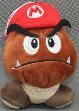 SUPER MARIO BROS. MARIO CAPPELLO GOOMBA PELUCHE - Hat Cap Plush Nintendo
