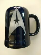 Star Trek Navy Blue and Silver 20 oz Mug With Emblem and Saying
