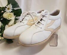 enfants filles chaussures baskets CUIR VÉRITABLE fabriqué Italie blanc beige