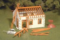 Bachmann Plasticville 45316 House Under Construction Plastic Model  O Gauge T48