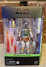 Star Wars The Black Series Boba Fett Return Of The Jedi Action Figure New