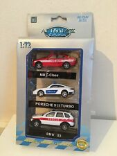 1/72 Automax Collection - Mercedes-Benz C-Class, Porsche 911 & BMW X5 - Police
