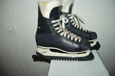 PATIN A GLACE HOCKEY BOZON 36  ICE SKATE T 45  US 11 TORNADO 3000 + PROTEGE LAME