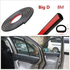 "8M 314"" Big D-Type Automobile Door/Window Trim Sealing EPDM Rubber Hollow Strip"