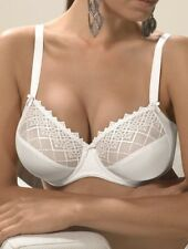 Felina Joy 501 Full Figure Unlined Embroidery Bra Conturelle,Lingerie 34C