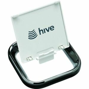 Hive Active Heating Thermostat Stand - Black Chrome