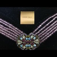 Vintage Heidi Daus Gorgeous Choker - Excellent Condition!
