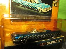 62 cadillac coupe de ville JADA DUB CITY OLD SCHOOL 2003 1/64 blue slammed