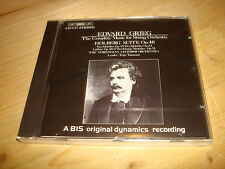 Grieg Complete Music for String Orchestra TONNESEN Audiophile BIS CD NEW SEALED
