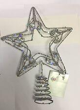 Premier Silver Christmas Tree Topper Christmas Tree Decoration