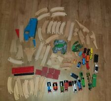 Thomas The Tank Engine, Brio Trains and Wooden Train Track Bundle