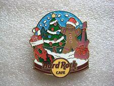 Hard Rock Cafe Pins - ONLINE 2011 SNOW GLOBE SERIES # 3 GINGERBREAD MAN!