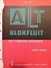 James Arden-ALT blokfluit-Het Tweede leerboek