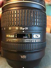 Nikon AF S Nikkor 24 120mm 1:4 G ED Lens