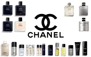 ALL CHANEL PRODUCTS FOR MEN ALL SIZES SEALED NIB Authentic